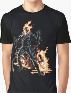 Ghost Rider Marvel Comics Graphic T-Shirt
