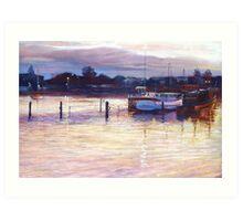 'Harbour Lights - Apollo Bay' Art Print