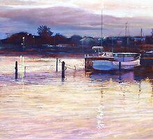'Harbour Lights - Apollo Bay' by Lynda Robinson