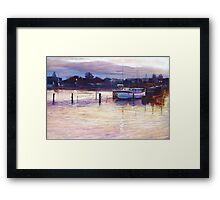 'Harbour Lights - Apollo Bay' Framed Print