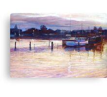 'Harbour Lights - Apollo Bay' Canvas Print