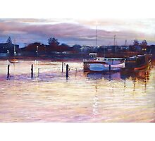'Harbour Lights - Apollo Bay' Photographic Print