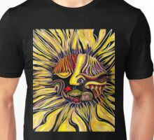 Just a little freeway face abstracted Unisex T-Shirt