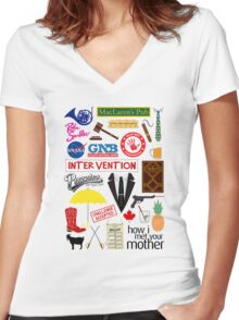 How I Met Your Mother Women's Fitted V-Neck T-Shirt