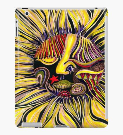 Just a little freeway face abstracted iPad Case/Skin