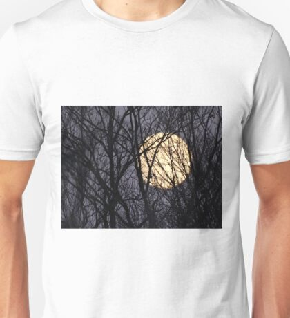 Full Yellow Moon Unisex T-Shirt