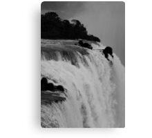 Iguassu Falls, Rio Canvas Print