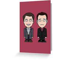 Jack and Ianto (card) Greeting Card