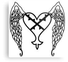 Heartless Tattoo Metal Print