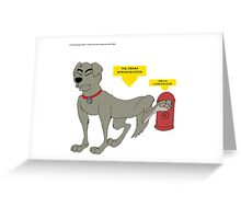 The Obama Administration Greeting Card