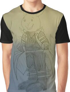 Buster Baxter as Seto Kaiba Graphic T-Shirt