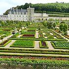 Chateau de Villandry by hans p olsen