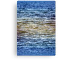 Patterns of Waveletts at Cape Henlopen State Park, Canvas Print