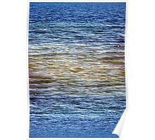 Patterns of Waveletts at Cape Henlopen State Park, Poster