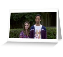 Annie and Abed Greeting Card