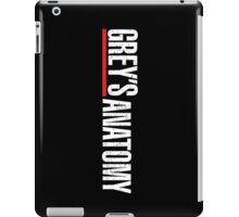 Grey's Anatomy Logo iPad Case/Skin