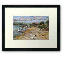 Hammonasset Beach Framed Print