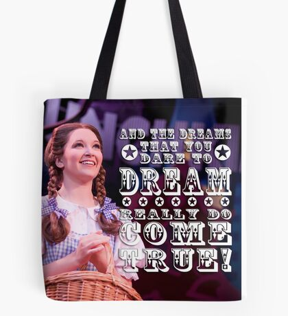 Wizard of Oz-Dorothy Tote Bag