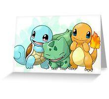 Baby Pokemon Greeting Card