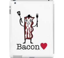 I love bacon iPad Case/Skin