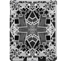 Tate - Created by a Genius (Square/Sym/BW) iPad Case/Skin