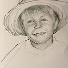 My grandson Ben by Ivana Pinaffo