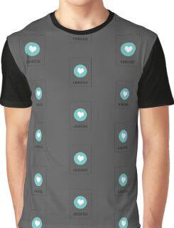 I Love Albuquerque Graphic T-Shirt