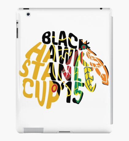 Chicago Blackhawks Stanley Cup 2015 iPad Case/Skin