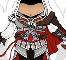 Ezio Auditore da Firenze Chibi Assassin Trio Sticker