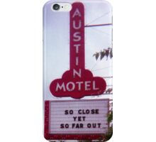 Austin Motel iPhone Case/Skin