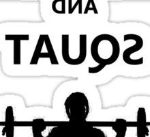 MIrror Squat Sticker