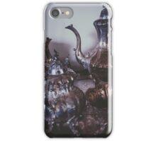 Silver Tea Set iPhone Case/Skin