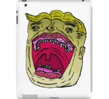 Excited Young Man iPad Case/Skin