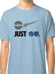 Just Go, Going To The Gym Catching Monsters T-Shirt Classic T-Shirt