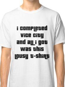 Grand Theft Auto Vice City 100% Reward Classic T-Shirt