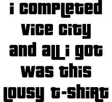 Grand Theft Auto Vice City 100% Reward Photographic Print