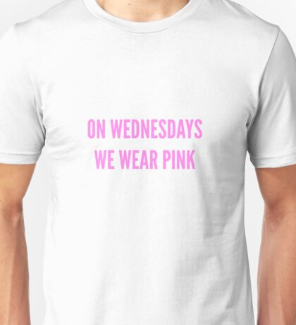Mean Girls Quote Unisex T-Shirt