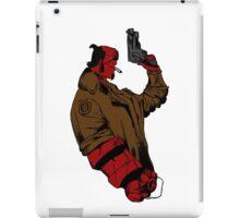 Hellboy Profile iPad Case/Skin