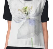 White Poppy Chiffon Top