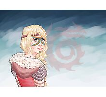How To Train Your Dragon 2: ASTRID Photographic Print