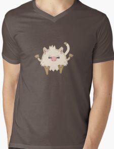 Simple Mankey Mens V-Neck T-Shirt