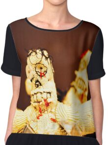 Zombie Doll Attack-3 Chiffon Top