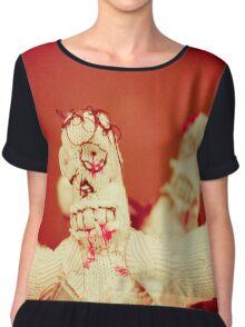 Zombie Doll Attack-2 Chiffon Top