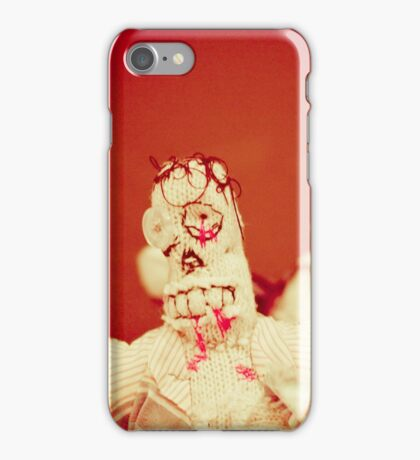 Zombie Doll Attack-2 iPhone Case/Skin