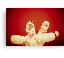 Zombie Doll Attack-2 Canvas Print