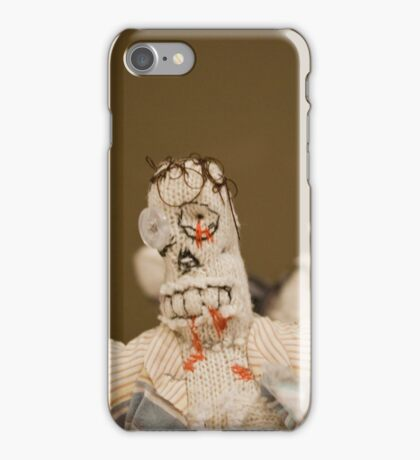 Zombie Doll Attack-1 iPhone Case/Skin