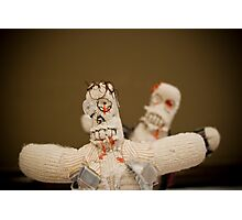 Zombie Doll Attack-1 Photographic Print