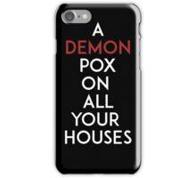 Demon Pox iPhone Case/Skin