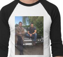 Jensen and Misha Men's Baseball ¾ T-Shirt