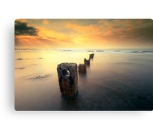 Pillars of Coledale Canvas Print